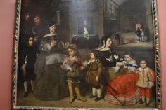 The Family of the Painter by Juan Bautista Martínez del Mazo - Kunsthistorisches Museum, Vienna, Austria Infanta Margarita, Spanish Painters, Spanish Artists, Philippe De Champaigne, Kunsthistorisches Museum Wien, Diego Velazquez, Potrait Painting, Painting Studio, Oil Painting Reproductions