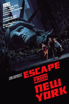 Escape from New York! I wish I could go back in time so I could marry 1980s era Kurt Russell.