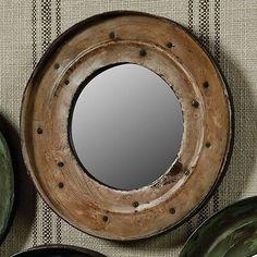 Reclaimed-Metal-Drum-Lid-Mirror