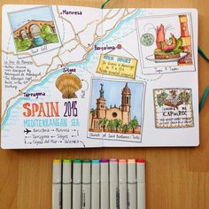 Image result for bullet journal travel journal