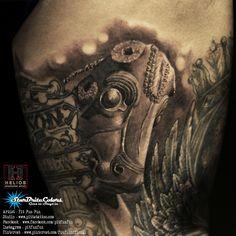 iranian takhtejamshid tattoo facebook : fun fun official page , instagram : pitfunfun
