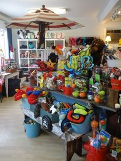 Our toy department is overflowing with toys for tiny dogs to big dogs