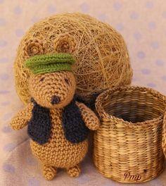 Amigurumi-Ratoncito Pérez. Juguete. Muñeco crochet de PmpPetriMontes en Etsy