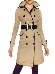 Burberry Prorsum #fall #fashion #coats: Classic with a twist...love!