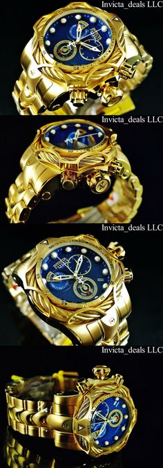 81016cdc686 Watches Parts and Accessories 14324  Invicta Reserve Mens 52Mm Venom Bolt  Swiss Eta Chronograph 18K