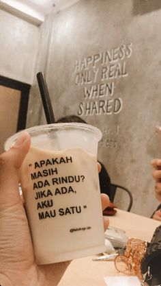 Quotes Rindu, Mood Quotes, Quotes Lucu, Food N, Food And Drink, Quotes Lockscreen, Bubble Milk Tea, Tumblr Food, Snap Food