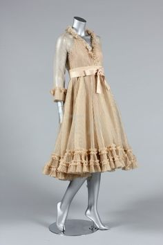 Cocktail Dress  Marc Bohan for Christian Dior  Autumn-Winter 1973  Kerry Taylor Auctions