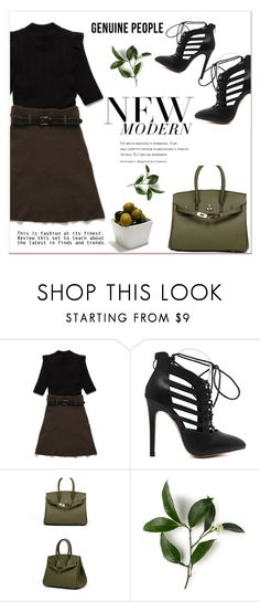 """""""GENUINE PEOPLE"""" by amra-mak ❤ liked on Polyvore featuring women's clothing, women's fashion, women, female, woman, misses, juniors and Genuine_People"""