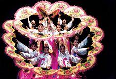 Buchaechum, the beautiful Korean Traditional Dance Korean Traditional, Traditional Outfits, Korean Hanbok, How Beautiful, Captain Hat, Dance, Image, Google Search, Korea