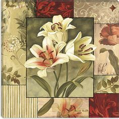 (Original as re-pinned)  iCanvasArt ''Classic Impressions'' Canvas Wall Art by Lisa Audit