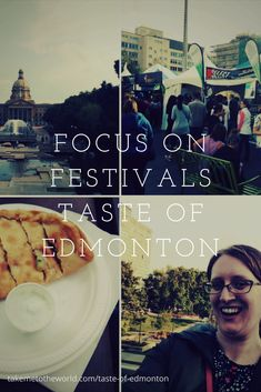 Foodie Alert - Be sure to check out A Taste of Edmonton a 10 Day Food Festival taking place in Edmonton, Alberta, Canada. Favourite Festival, Food Festival, Alberta Canada, Foodies, Road Trip, Check, Places, Lugares