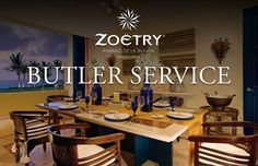 Expect the unexpected and experience the luxury you deserve with all-new butler service at Zoëtry Paraiso de la Bonita!