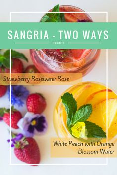 You've never tasted sangria like this before! Find this sephardic-inspired recipe at http://www.myjewishlearning.com/the-nosher/sephardic-inspired-sangria-two-ways/