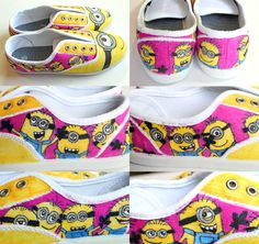 Custom Minion Shoes