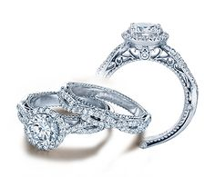 This is THE MOST beautiful set I've seen ! This company has SO MANY gorgeous designs for rings. My dream designers <3