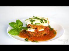 Keto Eggplant Parmesan - YouTube Keto Lasagna, Eggplant Parmesan, Free Food, Low Carb, Chicken, Youtube, Recipes, Ripped Recipes