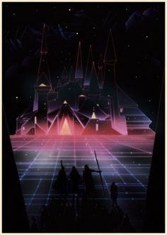KILIAN ENG / DW DESIGN in Retrofuturism - 80s - sci fi - futurism - neon