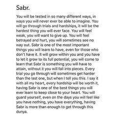 Success is achieved by sabar and salah Hadith Quotes, Allah Quotes, Muslim Quotes, Religious Quotes, Best Islamic Quotes, Quran Quotes Inspirational, Beautiful Islamic Quotes, Islamic Quotes Patience, Reminder Quotes