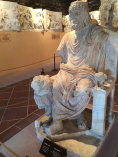 Pamukkale Hierapolis Archaeological Museum Turkey dö
