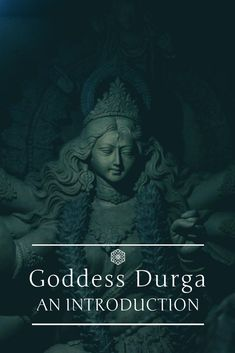 Durga Puja is all about the Goddess who we all love and worship. Let us today get to know Her better. Saraswati Devi, Durga Maa, Durga Goddess, Ancient Goddesses, Gods And Goddesses, Power Of Evil, Navratri Festival, Sanskrit Quotes, Mighty Girl