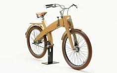 Грязи деревянный велосипед