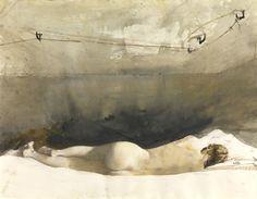 Helga by Andrew Wyeth, 1971-85