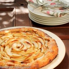 An insanely delicious apple tart~
