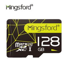 Mingsford 3.0 Memory Card 128GB SDXC Max UP 80MB/s Micro SD Card SDXC 128G SD CARD UHS-1 U1 Class10 for Smartphone Tablet