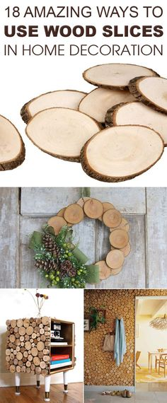 18 Amazing Ways To Use Wood Slices in Home Decoration - Diy & Crafting Box Frame Ideas Diy Crafts, Easy Diy Crafts, Diy Home Crafts, Diy Crafts For Kids, Craft Ideas, Christmas Crafts For Kids, Christmas Projects, Simple Christmas, Wooden House Decoration
