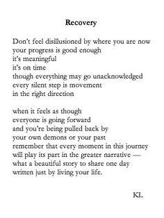 Résultats de recherche d'images pour «don't feel disillusioned by where you are now your progress is good enough it's»