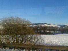 taken while on a bus to Dumfries Scotland