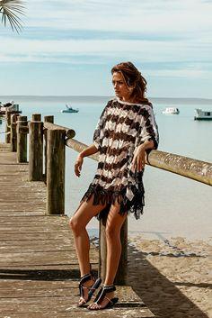 d2c91a7821 Melissa Odabash - 2016 Collection - The  Skye  crochet kaftan in boho.  Noëmi Delarue · Beachwear