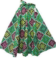 Decora Apparel Ankara Skirt Plus Size High Waisted African Print Skirt Women Long Wide Flared Belt Pocket Skirts African Print Skirt, Plus Size Belts, Ankara Skirt, Elastic Waist Skirt, Skirts With Pockets, Fashion Brands, Clothes For Women, Amazon, Wax