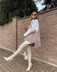 Winter Fashion Outfits, Fall Winter Outfits, Ootd Fashion, Spring Outfits, Womens Fashion, Fashion Hair, Teen Fashion, Cute Casual Outfits, Stylish Outfits