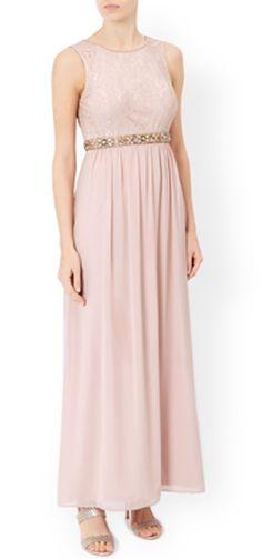 MONSOON Maeve Hand-Embellished Maxi Dress.  UK14 EUR42 & UK16 EUR44  MRRP: £149.00GBP - AVI Price: £65.00GBP