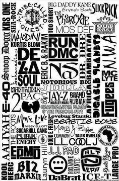 Hip Hop Legends Graphic - ShockTribe Streetwear #HipHopLegends #HipHop http://eclipcity.com This reminds me of what my high school binders used to look like! Except everything was hand drawn :)