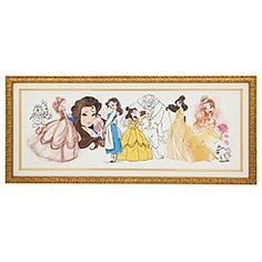 Art Of Belle Limited Edition Framed Giclee