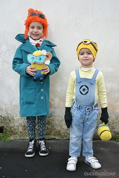 Make your own refashioned from Despicable Me costumes! [March 2014]