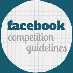 #Facebook have released new #competition guidelines and in our new #blog post we tell you everything you need to know! http://www.bykatieandjane.com/2013/09/new-facebook-competition-guidelines.html