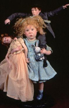 ANNE MITRANI 1997: OOAK Art doll of Fimo, wax. France