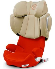 The reclining backrest on this booster seat perfectly adjusts to fit your car. Click above to buy this safety solution, which can accomodate a child up to 110 pounds.