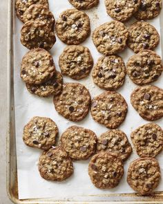 Satisfy a cookie craving with Oatmeal Chocolate Chip Cookies!