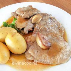 Este receta de lomo de cerdo al ajillo es muy sencilla de preparar y resulta un plato muy rico con una salsa deliciosa.