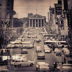 Texas Street, Downtown Shreveport, Louisiana - circa early to mid-1960s