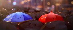 Capacity: Palabras con voz...: Maravilloso Corto animado: The Blue Umbrella, Feliz Día de los enamorados.
