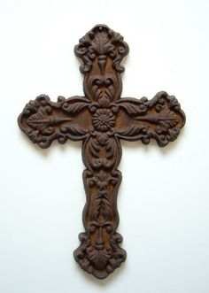 I really want a cool rustic cross with lots of detail.