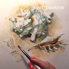 95 отметок «Нравится», 1 комментариев — 🎨 Watercolor blog (@watercolor.blog) в Instagram: «🎨 Watercolorist: @art_pavlova  #waterblog #акварель #aquarelle #drawing #art #artist #artwork…»
