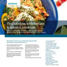 Why not try this delicious recipe at home?  Designed to be easily cooked in your #Siemens Single oven or compact appliance. Let us know how you get on.  http://www.lbkonline.co.uk/
