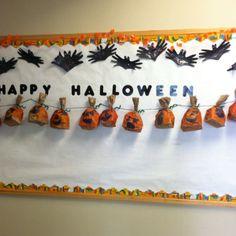 My Halloween bulletin board!