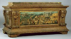 Cassone 1461 - 1465 Metropolitan Museum of Art, New York, N.Y., United States Of America Furniture, Tempera and gold on panel, 103 x 196 x 196 cm